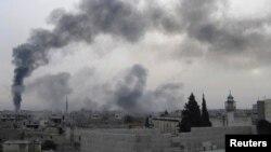 Pamje nga qyteti Homs, Siri