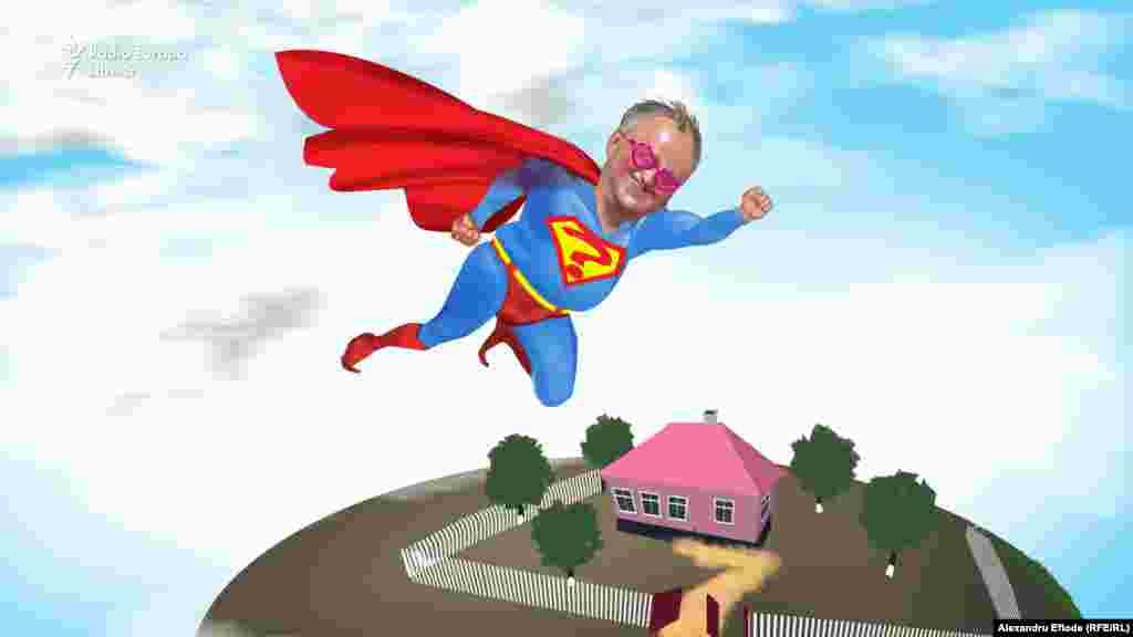 Președintele Igor Dodon are puteri mici, dar face fapte mari.Unor nevoiași din Bozieni, le-a dăruit o casă roz.