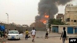 صحنهای از درگیریها در یمن