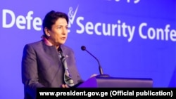 Выступление Саломе Зарубишвили на Международной конференции по обороне и безопасности, Батуми, 6 ноября 2019 года.
