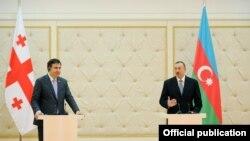 İlham Əliyev və Mikheil Saakashvili