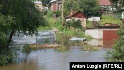 Благовещенск. Затопленные гаражи