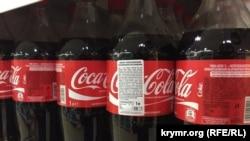 Прохладительные напитки Coca-Cola.