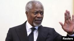 БМТ махсус вакили Кофи Аннан.