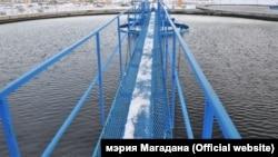 Мост через реку Магаданка