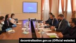 Зустріч посла Болгарії із українськими посадовцями