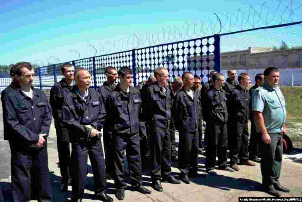 Голова пенітенціарної служби перевірив роботу колонії №15, що у місті Перевальську.