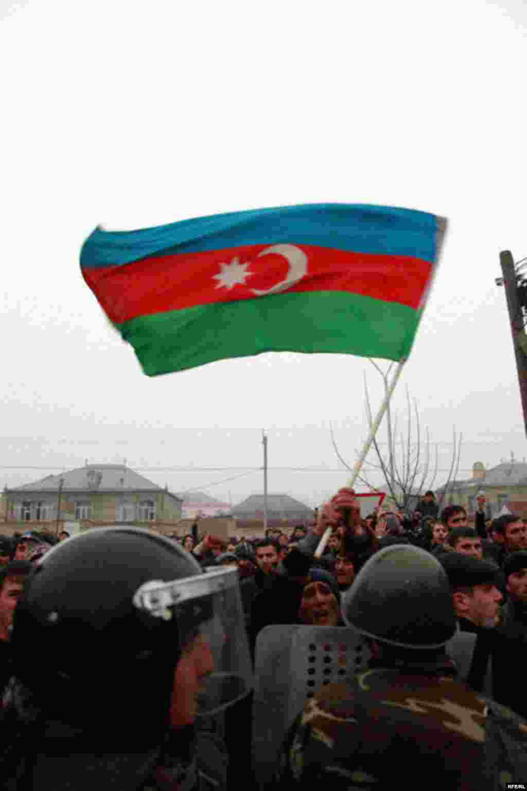 Protest Violence Erupts In Azerbaijan #9
