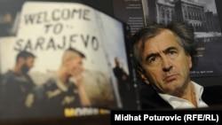Bernard-Henri Levy u Sarajevu, april 2012.