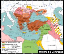 Osmanlı imperiyası 1481-1683 illər arasında