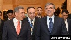 Татарстан һәм Төркия президентлары Рөстәм Миңнеханов һәм Абдуллаһ Гүл