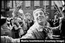 Первомайский парад в Ленинграде. 1974 год.