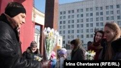 Жены офицеров объявили голодовку