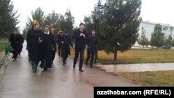 Baýdak baýramy, Aşgabat, 20-nji fewral, 2015.
