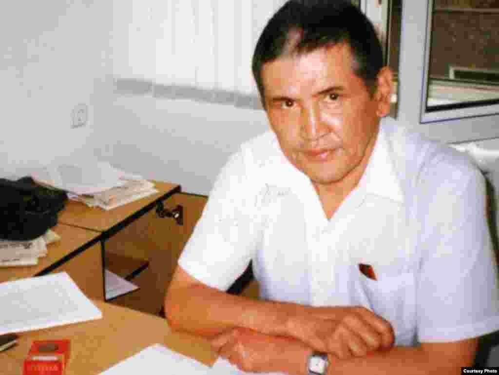 Тәуелсіз «СолDAT» газетінің бас редакторы Марат Қабанбай.