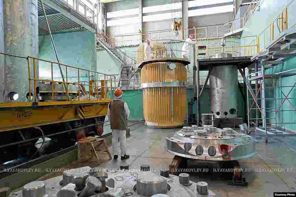 Завод РТ-1 по переработке отработанного ядерного топлива. ПО «Маяк», Озёрск