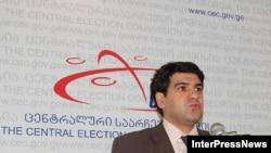 Исполняющий обязанности председателя ЦИК Леван Тархнишвили назван одним из кандидатов