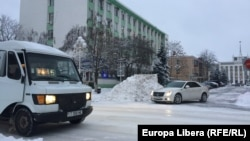 Pe străzile din Tiraspol