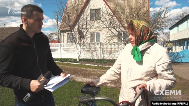 """Мати Юрія Понька, керівника """"Тріумф 15"""""""