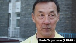 Отставкадағы полковник Сәрсенбай Жұмашев. Алматы, 9 мамыр 2012 жыл.