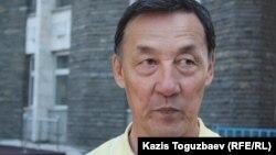 Полковник в отставке Сарсенбай Жумашев. Алматы, 9 мая 2012 года.