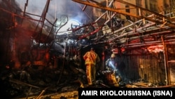آتش سوزی در مرکز درمانی سینا اطهر پس از دو ساعت مهار شد.
