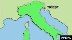 Triestin ərazisi 84,5 kv. km, əhalisi isə 211 min nəfərdir