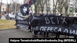Ілюстраційне фото: одна з акцій «Автономного опору» у Львові, 2011 рік