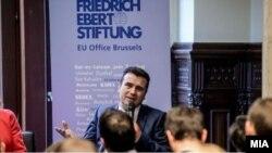 Архива: Премиерот на Македонија Зоран Заев во Брисел.