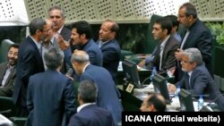 Iran's parliament session on Sunday, August 05, 2018.