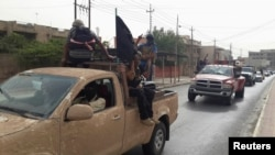 Islamic State fighters seized Tikrit in June 2014. (file photo)