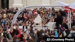 Папа Римский в Вильнюсе. 22 сентября 2018 года
