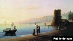 Айвазовський І. Пристань у Феодосії, 1840 рік