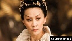 """Сердитая императрица из фильма """"Молодой сыщик Ди"""""""