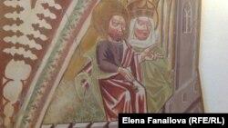 Фреска из замка в Шкофья Локе