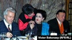 La București, cu Mariana Nicolesco și Gottfried Wagner