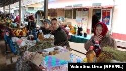 La piața din Soroca