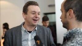 Goran Miletić u razgovoru sa novinarom RSE Zoranom Glavonjićem