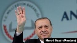 Թուրքիայի նախագահ Ռեջեփ Թայիբ Էրդողանը, արխիվ, Ստամբուլ, 29 սեպտեմբերի, 2017թ.