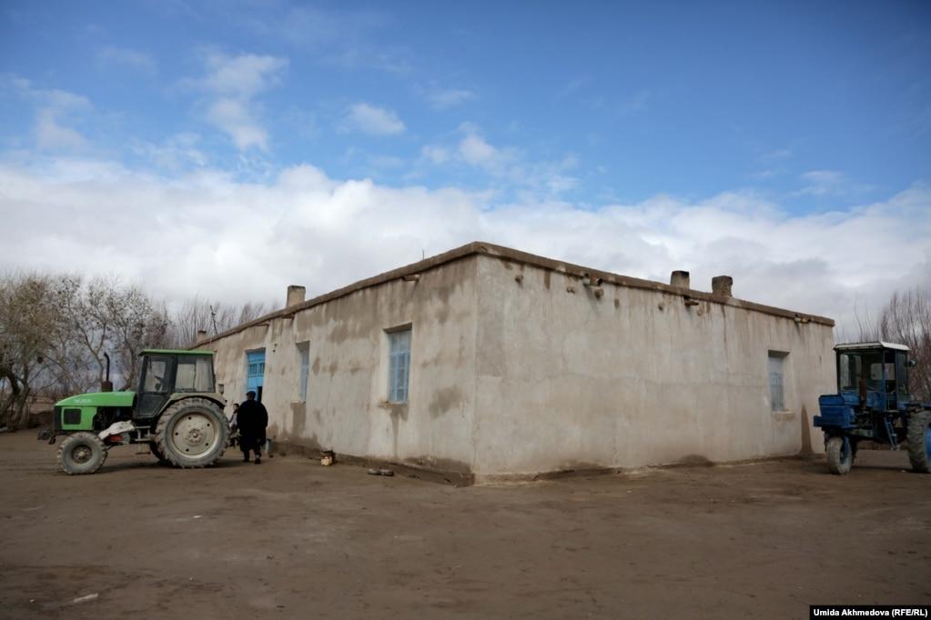 Алғабас ауылындағы ағайынды Шугураевтардың үйі.