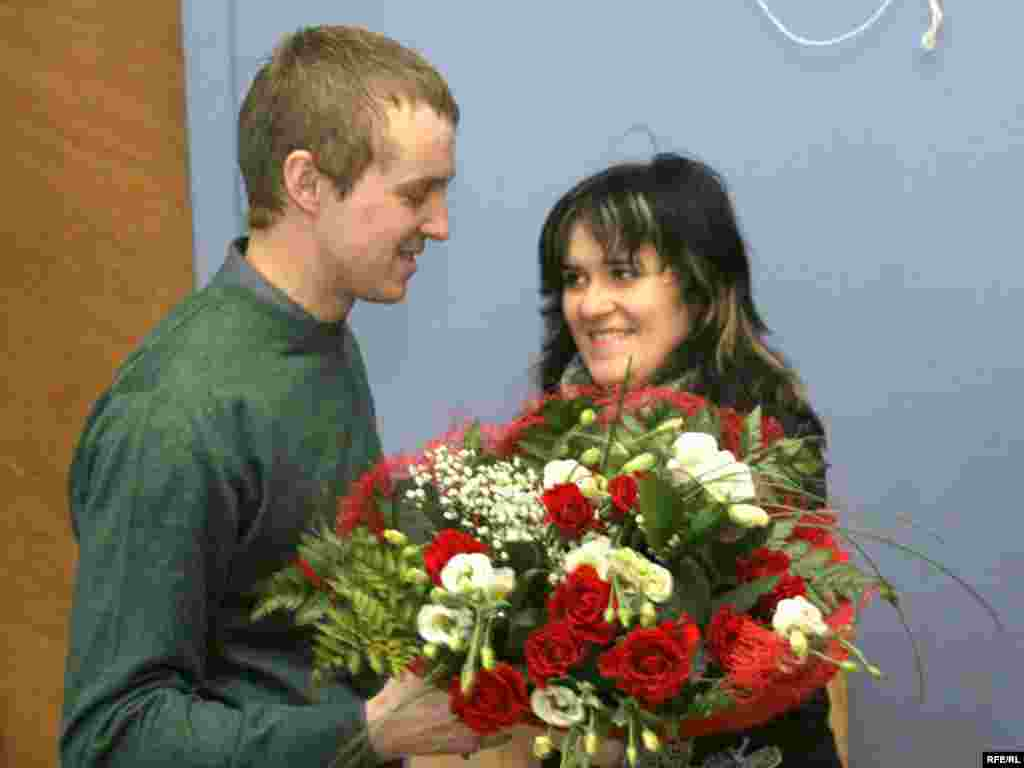Зьміцер Дашкевіч і Наста Палажанка, 2008