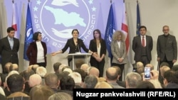 Тако Чарквиани вместе со своей партией намерена присоединится к объединению «Сила в единстве», которое ассоциируется с «Нацдвижением»