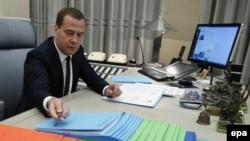 Ресей премьер-министрі Дмитрий Медведев.
