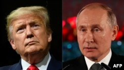 U.S. President Donald Trump and Russian President Vladimir Putin (file photo)