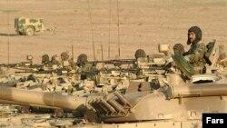 مانور نیروهای ارتش جمهوری اسلامی در استان سیستان و بلوچستان