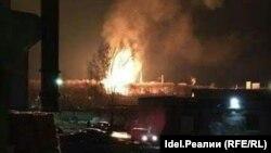 Пожар на Казанском пороховом заводе 24 марта 2017 года