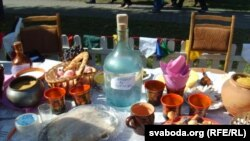 2007 год – Шклоў (Дзень пісьменнасьці). Уяўленьне пра накрыты па беларуску стол