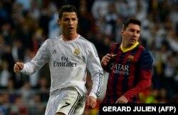 Cristiano Ronaldo (solda) və Lionel Messi