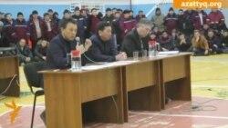 Мыңбаевтың мұнайшылармен кездесуі