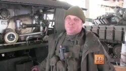 Вооруженные Силы Украины в Песках